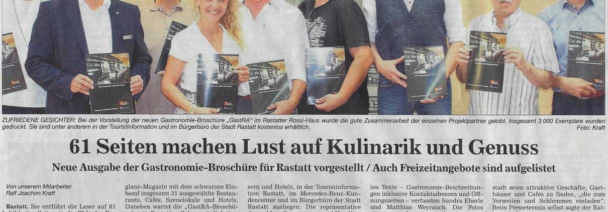 GastRA Broschüre Rastatt
